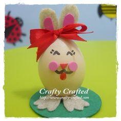 DIY Easter Egg Bunny