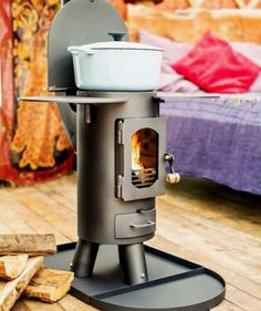 Tiny space stove