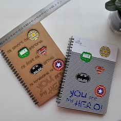 Be My Hero Kraft Defter