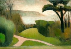 Mark Gertler: Near Swanage, 1916.