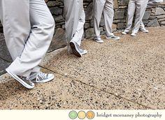 Wedding Chucks - Gray on gray Wedding Bells, Our Wedding, Dream Wedding, Bicycle Wedding, Green Converse, White Roses, My Dream, Lisa, Gray