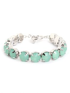"mint bangle / baublebar - and it's SILVER! I never seem to come across silver jewelry on here and so I pin stuff I love but if it's hold you should automatically attach ""love it but in silver for me"""