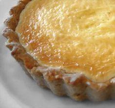 Sambocade — Medieval  Elderflower Cream Cheese Tart fresh flowers or cordial
