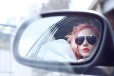 funny sunglasses car mirror by night.owl, via Flickr