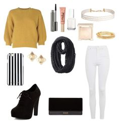"""""""Sans titre #36"""" by madrilene on Polyvore featuring mode, Topshop, 3.1 Phillip Lim, New Look, Humble Chic, Kate Spade, MAC Cosmetics, Too Faced Cosmetics, Jouer et Essie"""