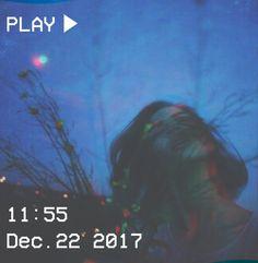 M O O N V E IN S 1 0 1 #vhs #aesthetic #grunge #blur #blue #glitch