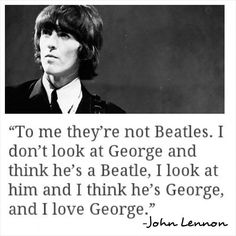John Lennon on George Harrison