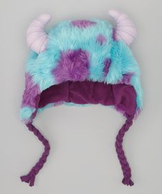 Monsters University Deluxe Sulley Earflap Beanie by Monsters University on #zulily  I NEED THIS!!!!