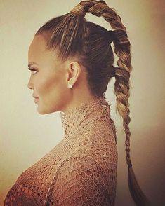 39 impressionnantes longues coiffures de queue de cheval tresse