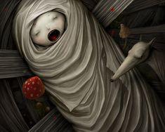 Fairy Tales and Miscellaneous by Anton Semenov, via Behance