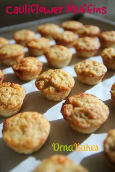 Cauliflower & Cottage Cheese Muffins. Only 1 Weight Watchers PointsPlus for two. YUM!!!  www.ornabakes.com