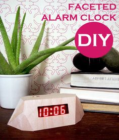 Dress up your old alarm clock - the one with the annoying sound that actually wakes you up.