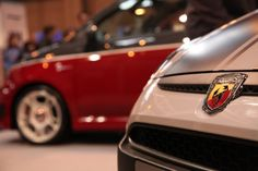 Abarth UK at TopGear Live 2012 - With the new Abarth 595 Competizione, Turismo and the Abarth Punto Evo Supersport. — at The Birmingham NEC.