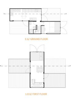 Minimal House Plans http://www.twotimestwentyfeet/portfolio/minimal-houses-3x20ft
