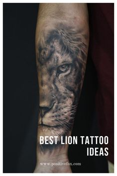 Among the tattoo models for men was the most preferred lion tattoos. The most popular lion tattoo models in 2018 Lion Arm Tattoo, Lion Forearm Tattoos, Lion Head Tattoos, Mens Lion Tattoo, Lion Tattoo Design, Leo Tattoos, Bild Tattoos, Tiger Tattoo, Body Art Tattoos