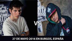 ¡¡¡Chuty vs Aczino!!! - Batalla de Exhibición -  Se Confirma la Batalla de Exhibición entre Chuty y Aczino.  Dicha Batalla se celebrará el 27 Mayo del 2016 en Burgos (España)  Como siempre en Batallasderap.net estaremos al tanto para compartir la batalla lo antes posible.  ¿Quién crees que ganará?   - http://batallasderap.net/batalla-de-exhibicion-de-chuty-vs-aczino/  #rap #hiphop #freestyle