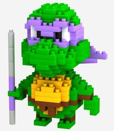 LOZ Building Blocks Toys Minion Mario Yoda Figure Blocks Assembling Toys Child Small Building Blocks Model