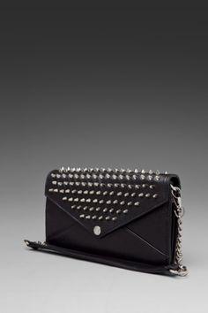 Rebecca Minkoff Wallet on a Chain in Black