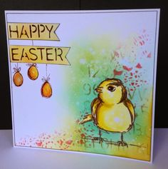 Easter Chick by Donna Ratcliff | That's Blogging Crafty!