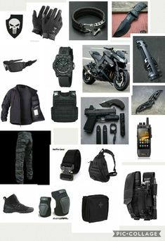 Not sure how I feel about the crotch rocket, but otherwise I dig it Tactical Survival, Survival Gear, Survival Skills, Wilderness Survival, Survival Prepping, Emergency Preparedness, Apocalypse Gear, Tactical Equipment, Cool Tactical Gear