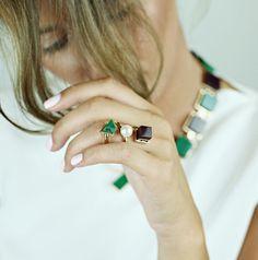 Shop the unique pieces from Eshvi jewelry at N-DUO-CONCEPT.COM