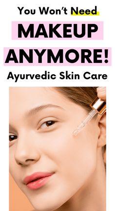 Beauty Hacks Skincare, Beauty Tips For Skin, Beauty Skin, Face Beauty, Diy Beauty, Beauty Makeup, Coconut Oil Uses For Skin, Oil For Dry Skin, Ayurvedic Skin Care