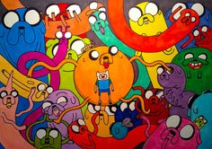 with finn and jake