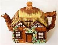 Vintage Cottage Teapot
