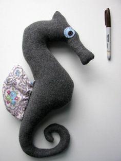 Softie seahorse by celia