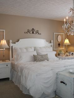 The Shabby Chic bedroom