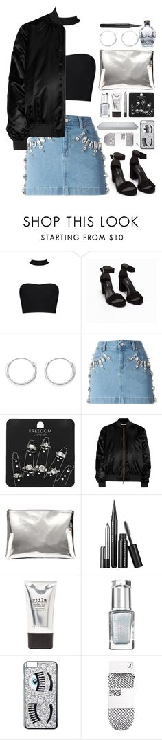 """In da club"" by brigi-bodoki ❤ liked on Polyvore featuring Nly Shoes, Emanuel Ungaro, Topshop, Givenchy, AB A Brand Apart, Marc Jacobs, Stila, Leighton Denny and Chiara Ferragni"