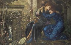A long-unseen masterpiece by the British Pre-Raphaelite painter Sir Edward Coley Burne-Jones is expected to fetch up to million when it goes on auction this summer. Love Among the Ruins has not Dante Gabriel Rossetti, Victorian Paintings, Victorian Art, Briar Rose, Pre Raphaelite Paintings, John Everett Millais, Pre Raphaelite Brotherhood, Edward Burne Jones, John William Waterhouse