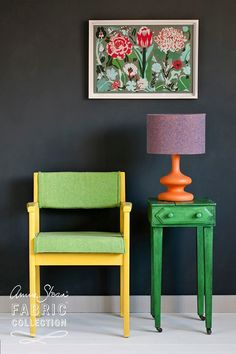Mooie foto met English Yellow van Annie Sloan