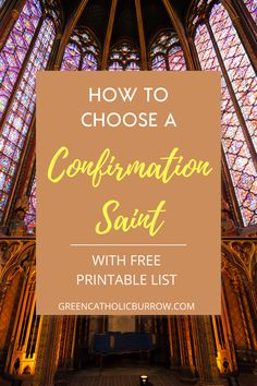 With a printable list of five great saints for adult converts. Confirmation Quotes, Catholic Confirmation, Catholic Doctrine, Catholic Quotes, Catholic Kids, Catholic School, Catholic Saints, Catholic Homeschooling, Catholic Wedding