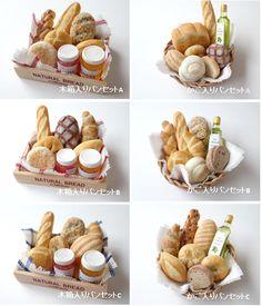 Canastillas de pan |♡ ♡ SWEETS BASKET (S*Basket)