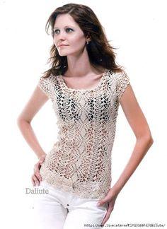 Crochet Top - diagram pattern only