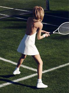 Grand Slam: Aline Weber By Misha Taylor For Harper's Bazaar Germany March 2015 #TennisPlanet www.tennisplanet.com