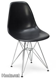 Eiffel Tower Dining Chair Panton Eames Style Black