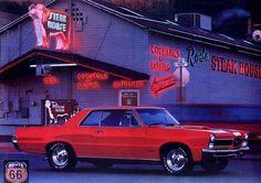 1165 - GM  - Pontiac GTO 1965 - ArizonaROADSIDE - America and RO