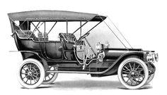1910 Franklin Model H Six