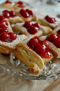 Easy Cherry Pastries [Recipe]
