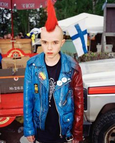 Young + Punk: Jouko Lehtola's Finnish Youth, Dazed Punk Subculture, Amazing Red, Portraits, Record Collection, Documentary Photography, Diy Clothing, Punk Fashion, Pop Culture, Beautiful People