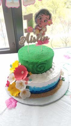Moana cake Birthday Pins, Moana Birthday Party, Moana Party, Baby Girl Birthday, 4th Birthday Parties, 3rd Birthday, Birthday Ideas, Moana Disney, Moanna Cake