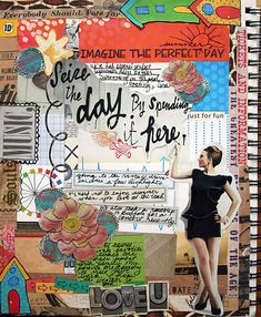 Art Journaling 102: Hybrid Feature – Reverse Hybrid, Hybrid Canvas, & AJC Gallery Finds | Studio Tangie