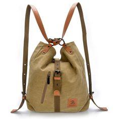 Preppy Canvas Bag