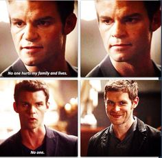 """Loved this scene in #TheOriginals with Elijah and Klaus 