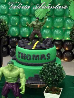 Cake Hulk - Bolo do Hulk