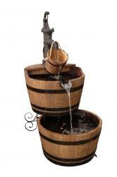 4-delige waterpartij 2 x 225 liter