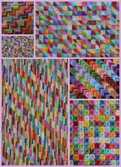Needlepoint patterns.