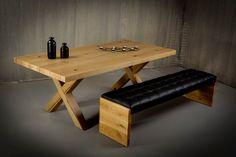 Τραπεζαρία Constantin | Dining table Constantin #home #homedecor #interiordesign #furniture #diningroom #table